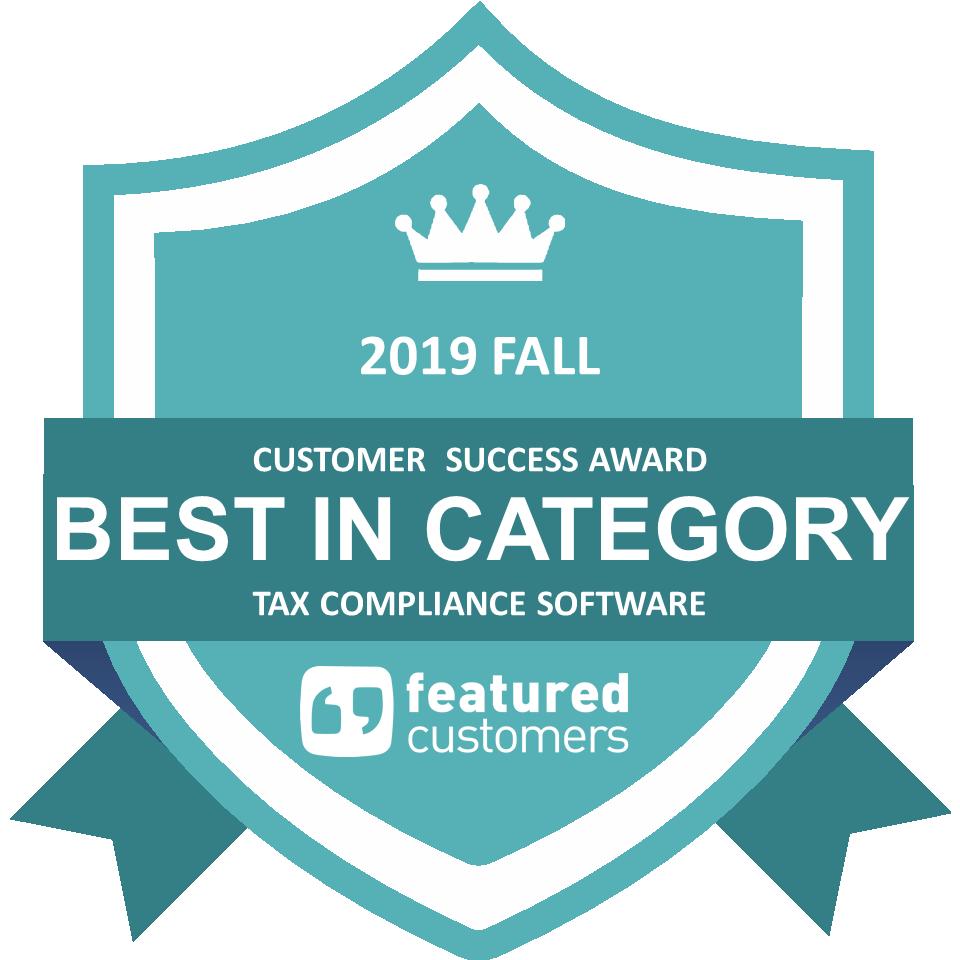 Vertex Inc. Wins Best Tax Compliance Software