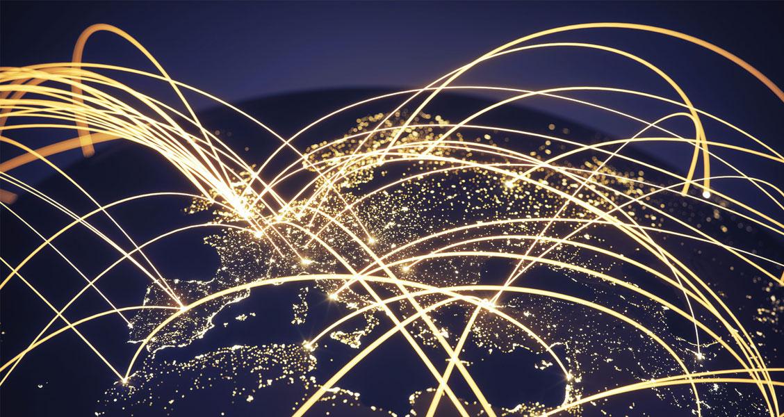 Sparks of global communication