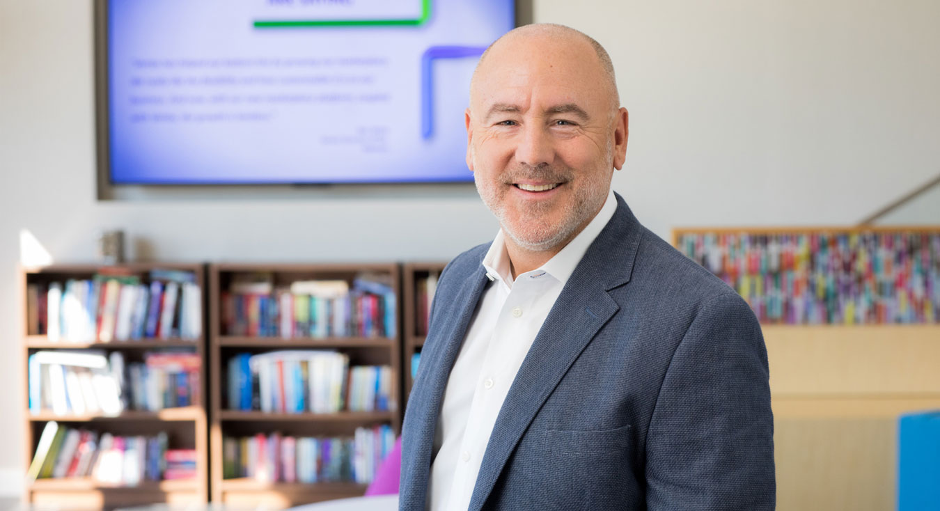 Jeff Westphal, Chairperson of the Board of Directors and Co-Owner, Vertex Inc. Vertex delivers the world's most valued tax solutions for companies to connect, transact, and comply while growing their business.