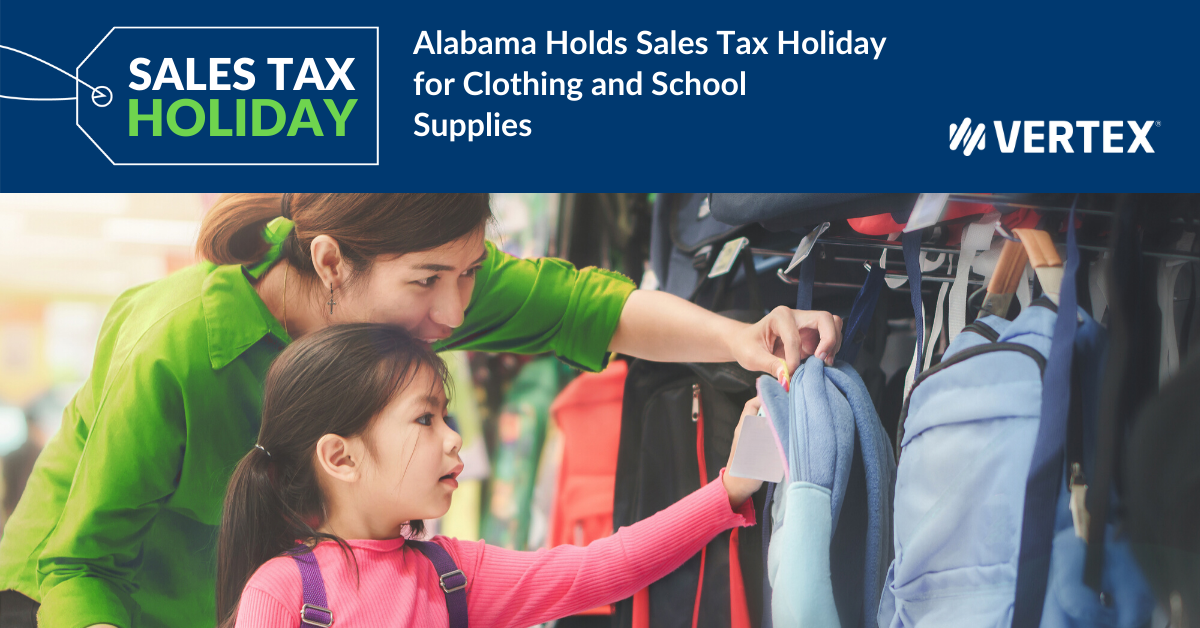 Alabama will hold a sales tax holiday July 17-19, 2020. See what items are included.