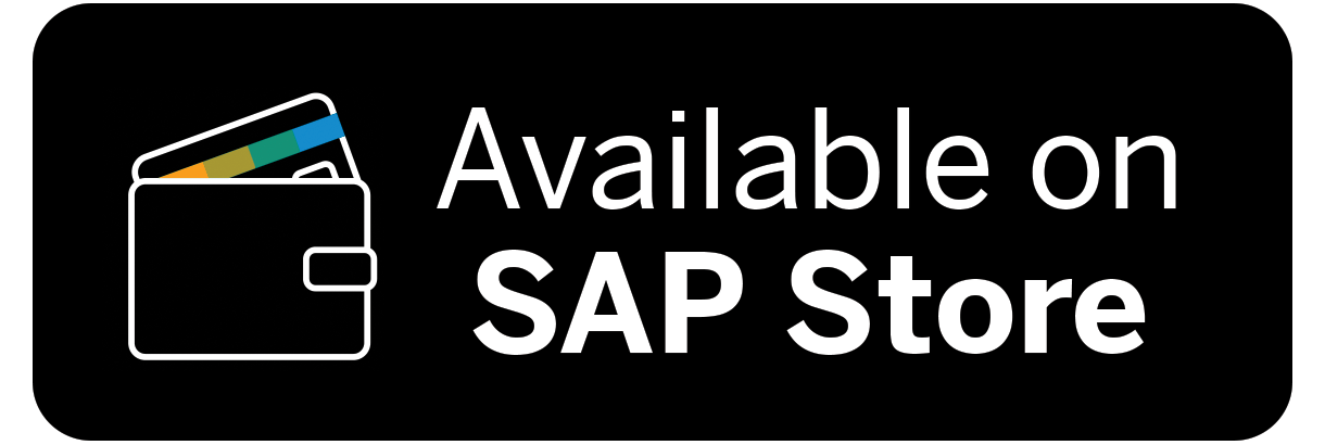 Available on SAP Store Logo