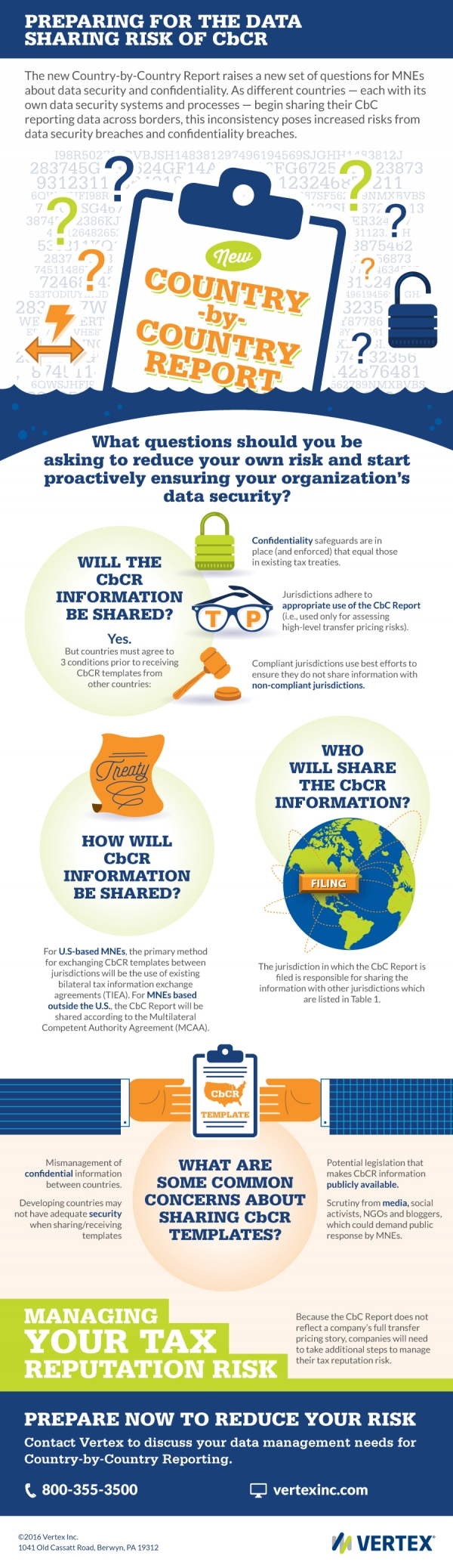Preparing for the Data Sharing Risk of CbCR Infographic