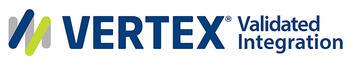 Vertex Validated Integration Logo