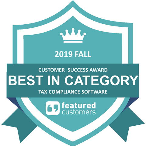 Vertex Inc. Wins Best Tax Compliance Software