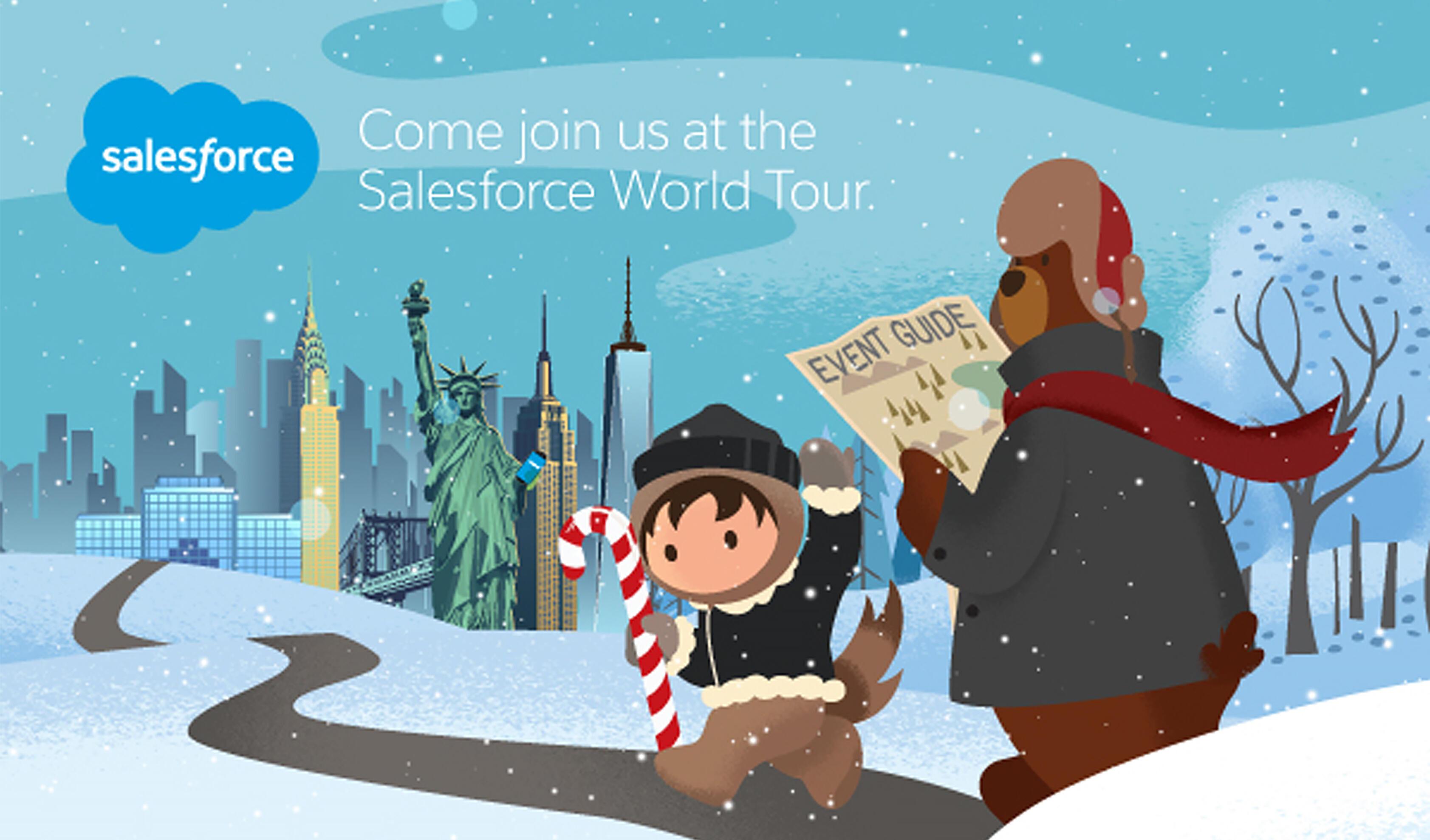 Vertex Inc. at Salesforce World Tour NYC Winter 2019