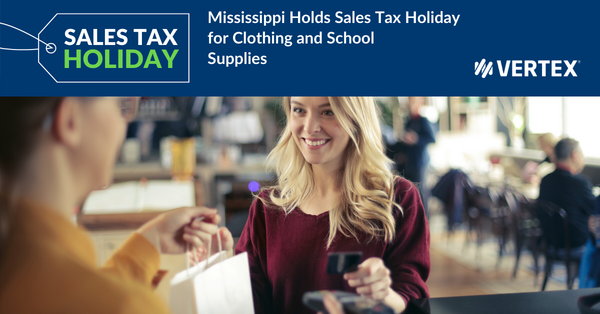 Mississippi Sales Tax Holiday 2020