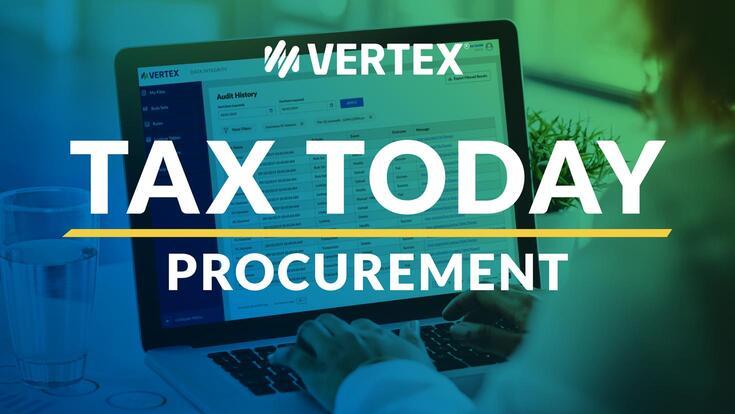 Vertex Inc. Procurement Podcast for Businesses