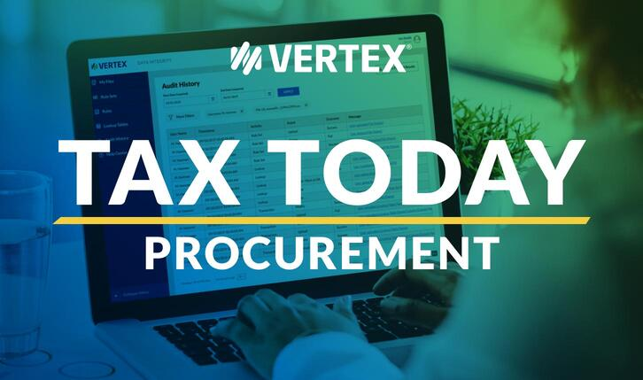 Vertex Inc. Procurement Podcast for Businesses